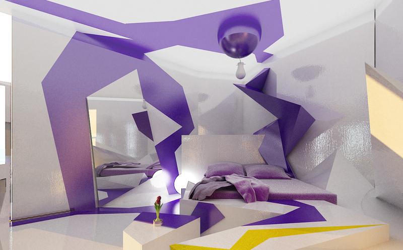 Экстраординарная спальня